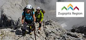 Bergsteigen in der Zugspitz Region
